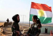 κούρδισα μαχήτρια Kurdish women fighters